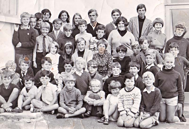 Sailing Club party in the summer of 1967